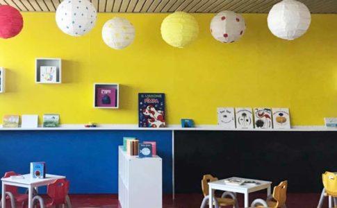 Biblioteca dei Bambini nella Casa Circondariale Borgo San Nicola