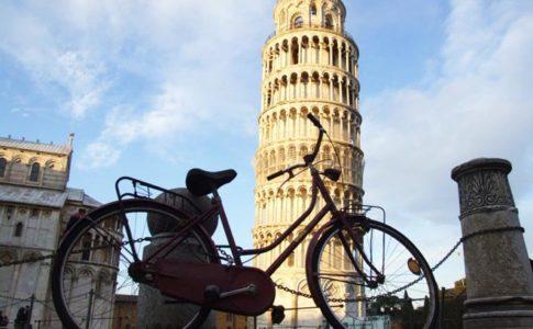 Bici in città, a Pisa