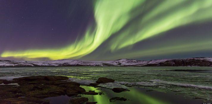 Canada aurora boreale