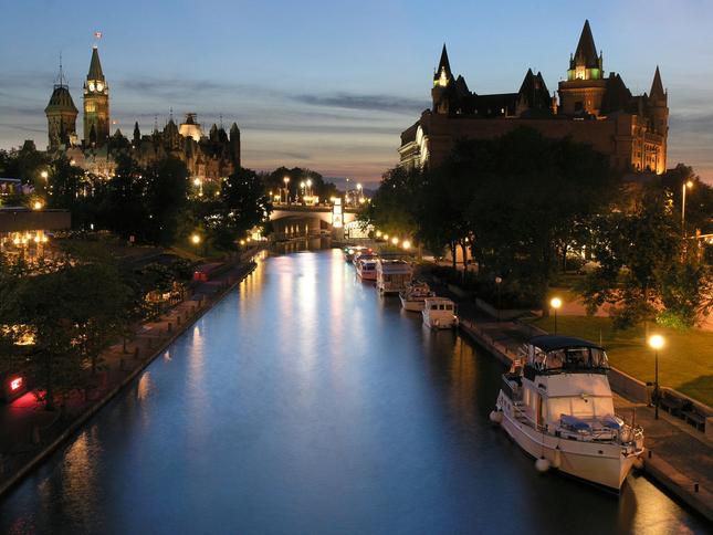 Canale di Rideau, Canada