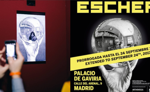 Escher in mostra a Madrid