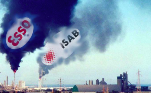 impianti del Petrolchimico in Sicilia