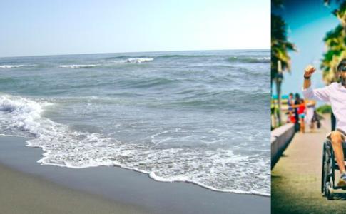 """Mare a Ostia e Antonio Savino, fondatore """"Il mare diverso"""""""