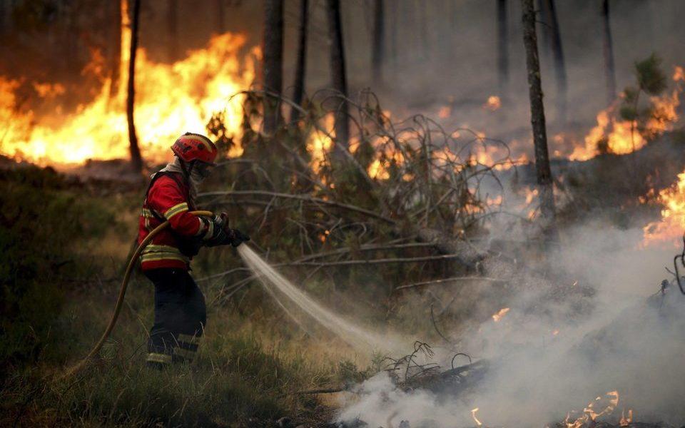 Incendio Portogallo, aumento delle ondate di calore