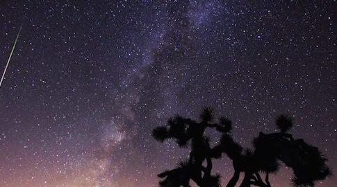 Lo sciame delle Perseidi, stelle cadenti ad agosto