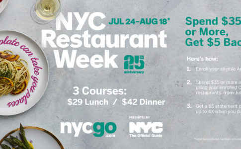 Banner NYC Restaurant Week