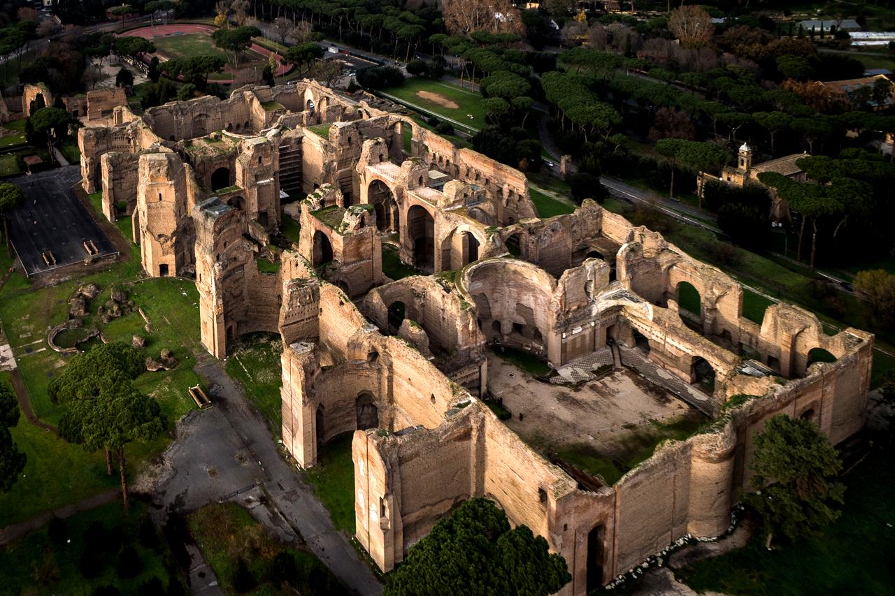 Roma purgatorio dante lettura ricordi terme caracalla for Antiche ricette romane