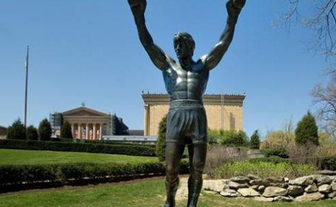 Statua Rocky Balboa a Philadelphia
