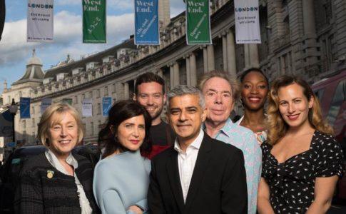 Personalità partecipanti alla #LondonIsOpen