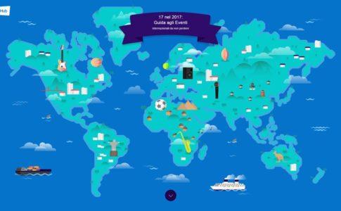 """StubHub presenta la guida viaggi """" International Eventures – 17 nel 2017 """" per offrire ai turisti itinerari personalizzati con i migliori eventi dell'anno"""