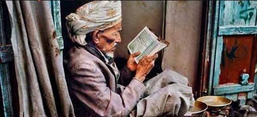 Steve McCurry Leggere