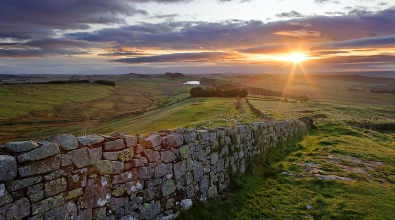 Vallo di adriano resti di antiche mura romane in gran for Ricette romane antiche