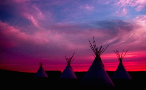 Accampamento Powwow