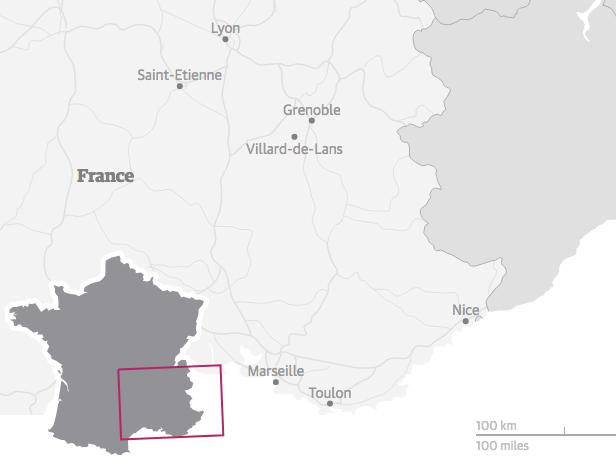 Massiccio dei Vercors, Francia