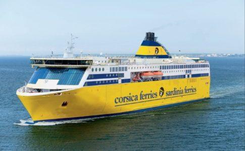 Corsica Ferries, tra le navi ad usare Repcet
