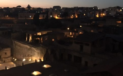 Ercolano by night