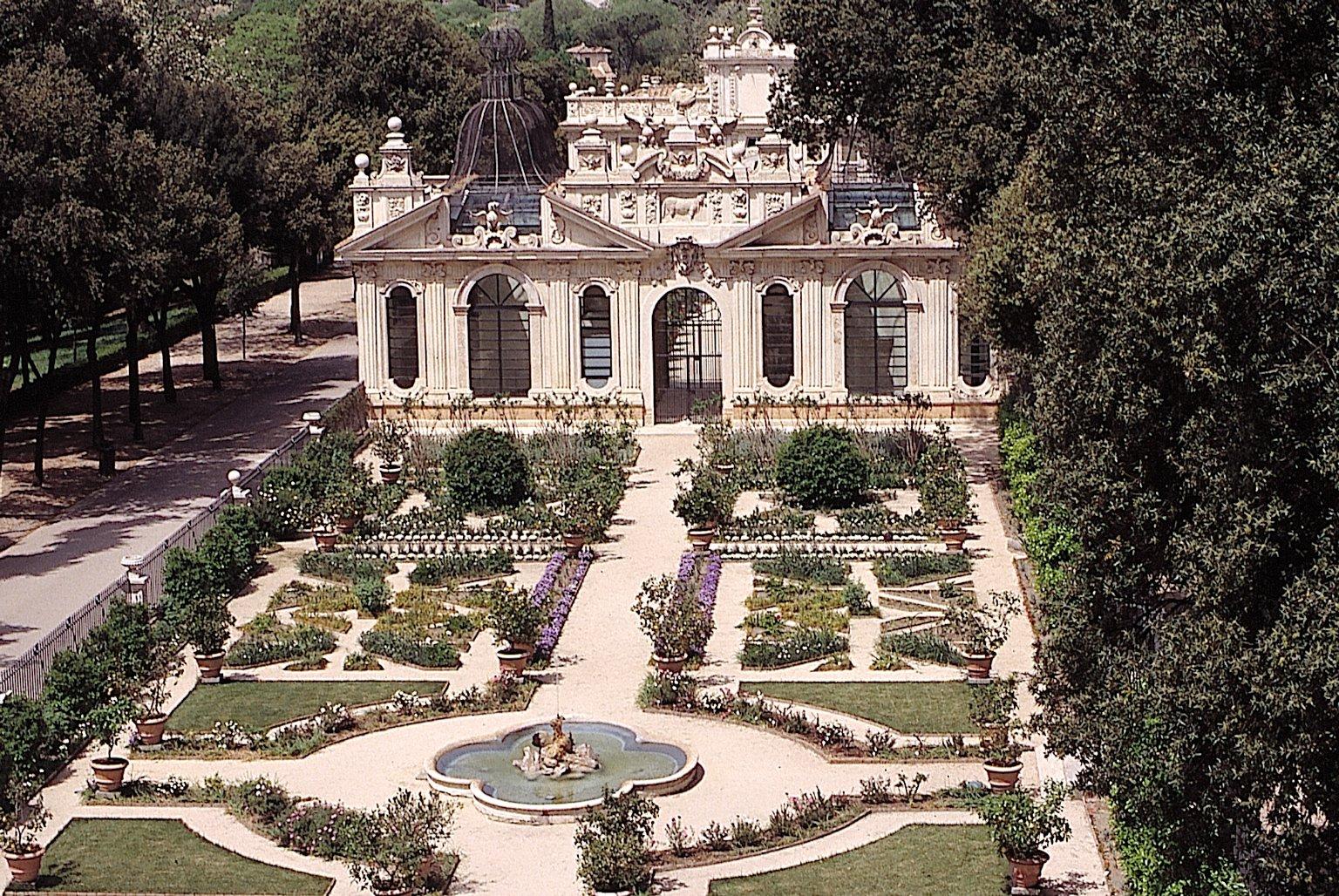 Villa Borghese Roma Parcheggio