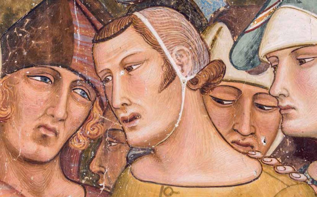 Immagine principale mostra Ambrogio Lorenzetti, nel Santa Maria della Scala