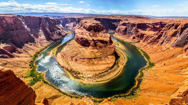 La top 6 dei canyon pi spettacolari della terra tgtourism for Grand canyon north rim mappa della cabina