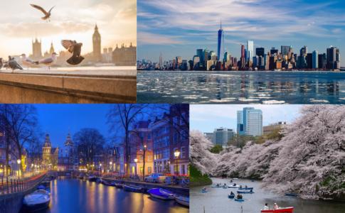 4 tra le città più popolari secondo Skyscanner
