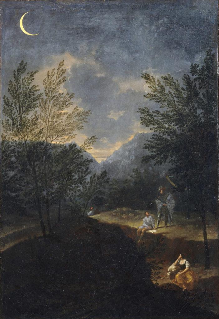 """Creti, Donato (1671-1749): Astronomical Observations: Venus Vatican Pinacoteca (in mostra a """"Rivoluzione Galileo"""")"""