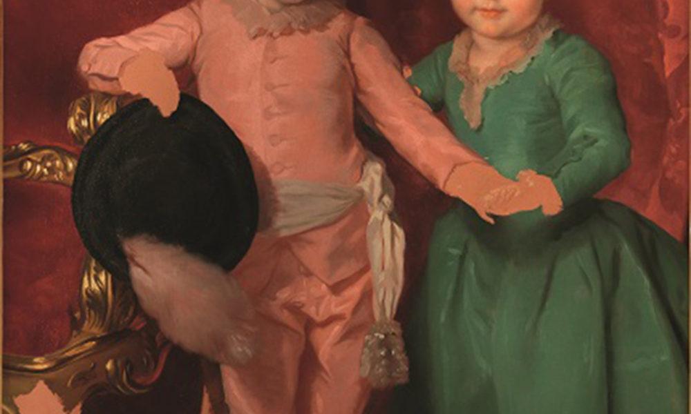 """""""I Nipoti del Re di Spagna"""" Gallerie degli Uffizi, Firenze"""