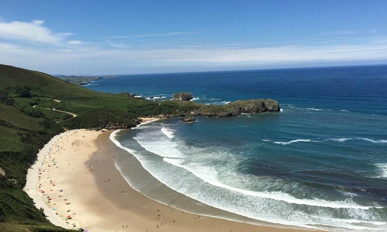 Spiaggia Torimbia, Spagna settentrionale