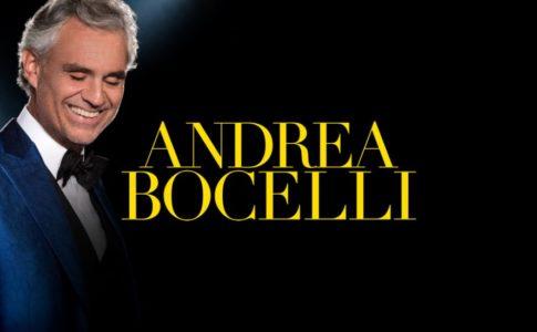 Concerto di Andrea Bocelli, in programma nella Giordania