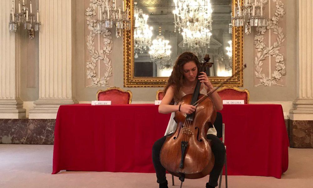 Giovane di Musica con le Ali per Da Firenze all'Europa