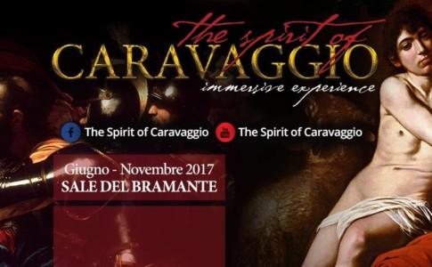 """Locandina """"The Spirit of Caravaggio"""""""