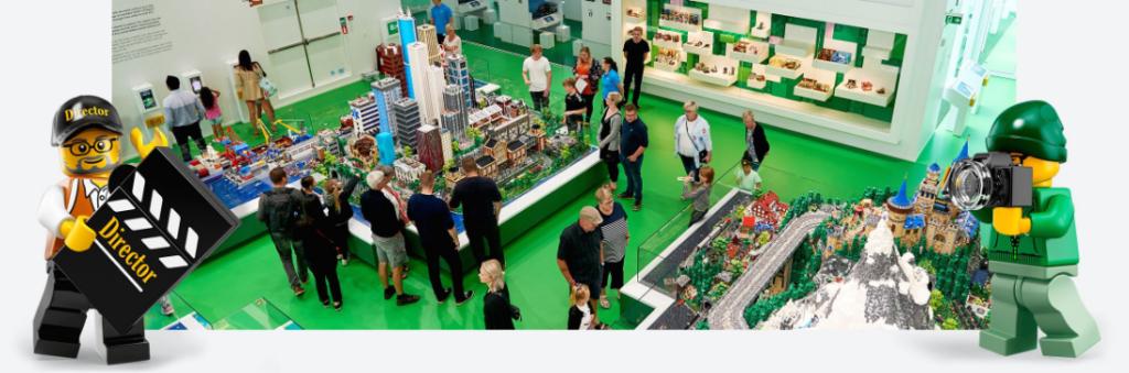 Area verde LEGO House