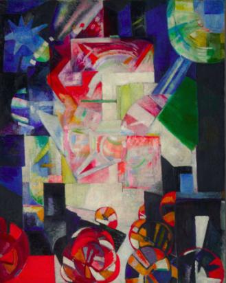 Aleksandra Ekster: Composizione. 1914