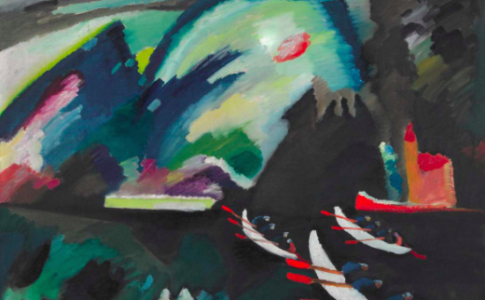 Vasilij Kandinskij: Lago. 1910