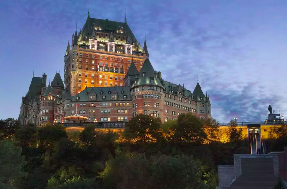 Fairmont Le Chateau Frontenac, in cui trascorrere Halloween 2017