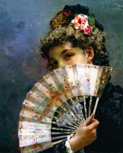Edoardo Tofano, Il ventaglio, in mostra a DIVINA CREATURA