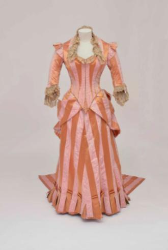 Sartoria Worth, Parigi, Abito da ricevimento in due pezzi, 1885 - 1888