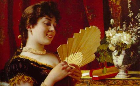 Pietro Bouvier, Un dono artistico, circa 1888