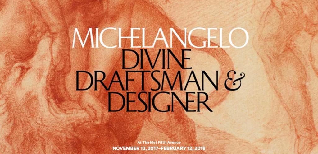 Banner mostra MIchelangelo, al MET