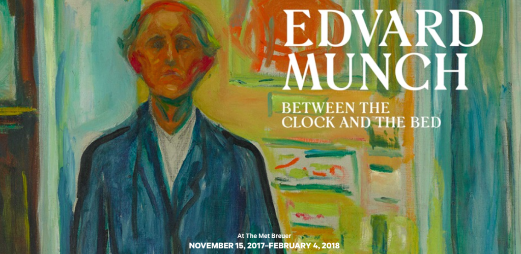 Banner mostra Munch, al MET