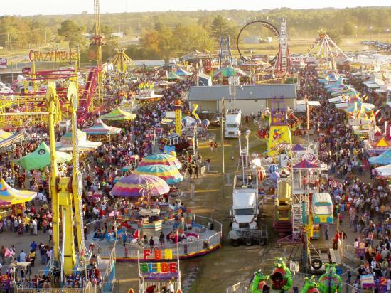 Dothan peanut festival, Alabama