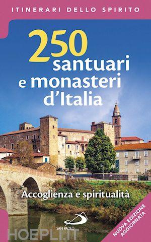 "Copertina guida ""250 santuari e monasteri d'Italia"""