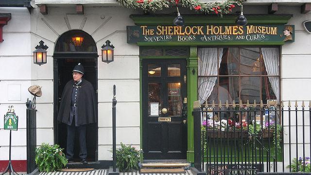 Sherlock Holmes Museum, tra i sei eccentrici musei della Gran Bretagna