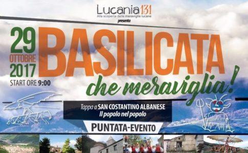 """Locandina """"Basilicata, che meraviglia!"""""""