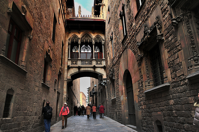 Barri Gotic, Barcellona