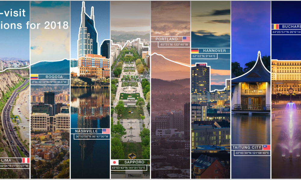 Booking.com Emerging Destinations 2018