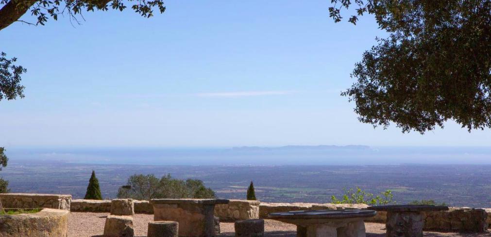 Santuari de Cura a Maiorca, nelle Baleari