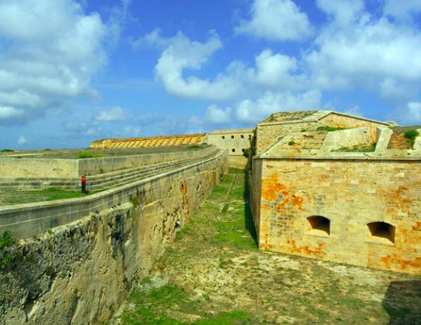 Itinerario militare a Minorca, Baleari