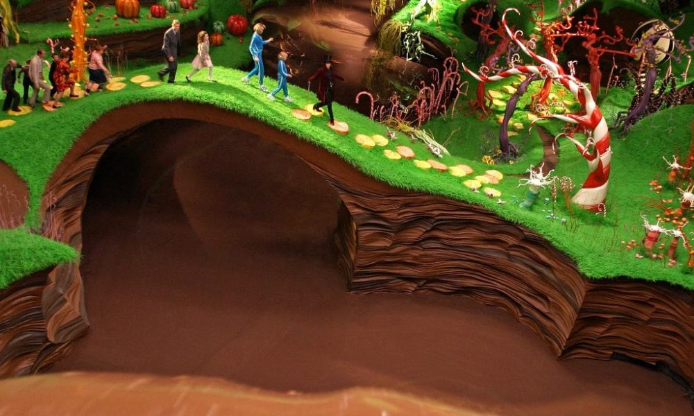 Risultati immagini per fabbrica museo del cioccolato fiera di roma