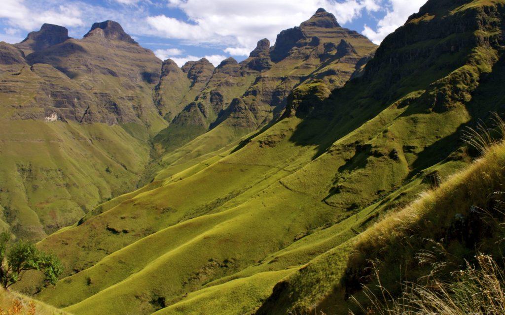 Drakensberg Mountains, Sudafrica