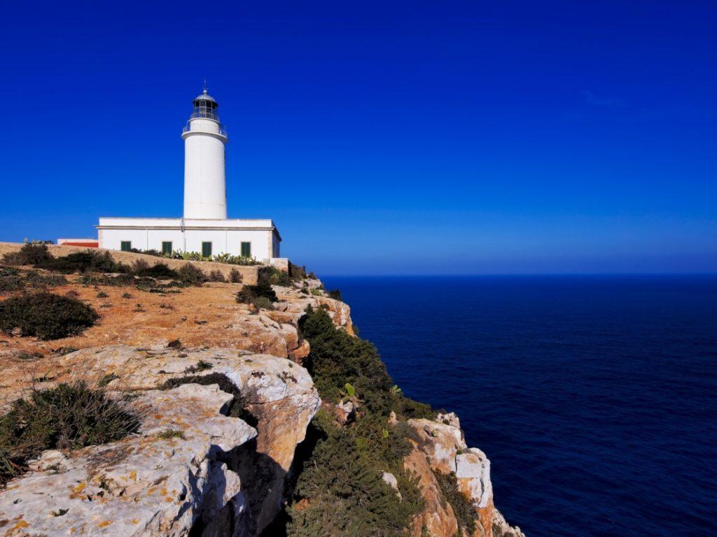 Faro de la Mola a Formentera, nelle Baleari